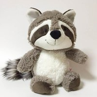 Wholesale cute lovely baby doll for sale - Group buy Gray Raccoon Plush Toy Lovely Raccoon Cute Soft Stuffed Animals Doll Pillow For Girls Children Kids Baby Birthday Gift c22