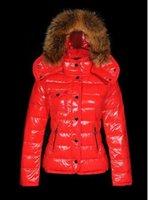 chaqueta corta acolchada mujer al por mayor-Hot 2020 Winter Fashion brand Mujeres Slim Down jacket Pyrenex Ladies Down Short White ganso chaqueta acolchada
