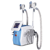 Wholesale rf lipo machine resale online - Portable fat freezing machine waist slimming cavitation rf machine fat reduction lipo laser freezing head can work at the same time