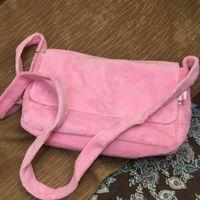 Wholesale good designer handbags resale online - Shoulder velvet Fashion black makeup bag famous luxury party bag flannel shoulder bag good quality velvet handbag engo