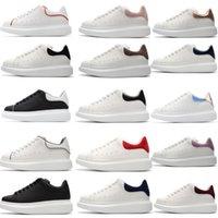 erkek deri ayakkabıları markaları toptan satış-alexander mcqueen 2019 yeni tasarımcı marka erkek kadın moda deri boy Alexander platformu artışı mcqueens rahat ayakkabılar mens kalite sneakers
