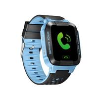 touchscreen fernbedienung großhandel-Touchscreen Q528 LBS Tracker WatchAnti-verlorene Kinder Kinder Smart Watch LBS Tracker Armbanduhren SOS Anruf für Android IOS mit Remote-Kamera