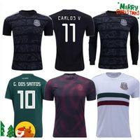 chicharito jersey mexico al por mayor-2019 Copa de Oro Camisetas México 19 20 Hombres Mujeres camiseta de fútbol 2018 CHICHARITO LOZANO MARQUEZ DOS SANTOS camisa de las muchachas de fútbol camisa de futbol