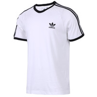 мужская рубашка размера xs оптовых-2019 женщины мужчины футболка летние топы для пары горячей продажи белая рубашка с Письмо печати размер XS-XXL