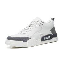 basketbol ayakkabıları orijinal toptan satış-NXY Kalın Platformu Erkekler Sneakers Gerçek Deri Nefes Spor Ayakkabı Lace Up Koşu Basketbol Spor Ayakkabı Koşu Koşu
