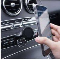 держатель магнита для мобильного телефона оптовых-Moeff Смартфон Автомобильный / магнитный / мобильный телефон Держатель Cd-слота / подставка / магнит / крепление для телефона в автомобиле Держатель сотового телефона магнитный