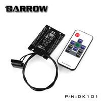 разъем контроллера оптовых-Barrow DK101 water cooling Remote type 8 lines RGB light controller gadget harness connector lot