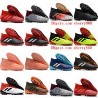 7a88f306efe4 2019 new cheap Predator 18+AG soccer shoes Predator accelerator 18 mens  soccer cleats Predator 18.1 19.1 AG football boots botas de futbol