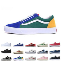 Wholesale clubbing boots for sale - Group buy 2019New Vans old skool sk8 fear of god hi men women canvas sneakers black white YACHT CLUB MARSHMALLOW fashion skate shoes36