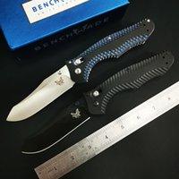 ingrosso maniglie bm42-Benchmade BM810 BM810BK BM-810 Osborne coltello pieghevole rapido D2 - AXIS Lock, M390 lama G10 maniglia OEM BM485 BM 940 BM943 BM781 C81 3300 BM42
