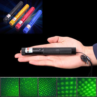 laser-pen brennen groihandel-New Military 532nm 5mw Grün Laser Verde Stift Lazer Pointer Brennen Presenter Remote Lazer Jagd Laser Bore Sighter