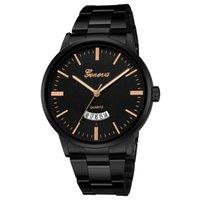 d relojes de marca al por mayor-Relojes Hombre Reloj Hombre Moda Deporte Reloj de cuarzo Reloj para hombre Relojes de primeras marcas de lujo Negocios Reloj impermeable Relogio masculino #D