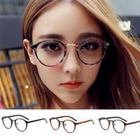 metal çerçeveler takılar toptan satış-Glamour Girl Güneş Okuma Gözlükleri Charm Kadınlar Güneş Gözlüğü Unisex Klasik Metal Çerçeve Ayna Yuvarlak Bisiklet Gözlük