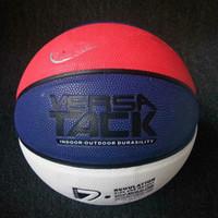 chão de basquete ao ar livre venda por atacado-NK top quality basquete Bolas Não-slip wearable tamanho 7 adulto de alta qualidade esporte ao ar livre futebol frete grátis