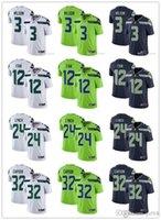 Wholesale football jerseys seattle for sale - Group buy Men Women Youth Seattle Seahawks Jersey th Fan Russell Wilson Marshawn Lynch Chris Carson Football Jerseys Rush Navy