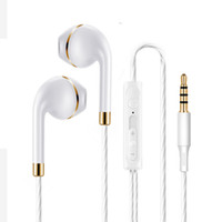 Wholesale earplug headphone bass resale online - 2019 Hot Sale Earplug Wire Controlled Walkman Audio Visual Earphone Direct Plug Heavy Bass Earphone Computer Digital Accessories Headphone