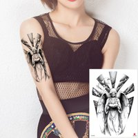 efe3fae70 Sexy Angel Wing Tattoo Fake Black Temporary Body Art Decal Bird Nun Goddess  Feather Designs Tattoo Sticker for Woman Man Waterproof Transfer