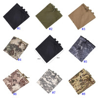 Wholesale utility belt pouches resale online - Tactical Molle Pouch Utility Magazine Drop Dump Pouch Hunting Airsoft Military Gun Ammo Foldable Pocket Belt Waist Pouch MMA2456
