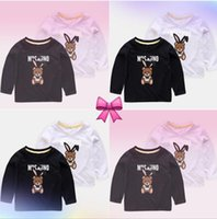 Wholesale blouses for kids for sale - Group buy Baby Boys Girls Brand Tag Clothes Blouses Autumn Long Sleeve Cartoon T Shirt Children Shirts For Kid Top Tee Shirts