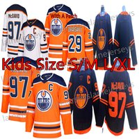 Wholesale youth connor mcdavid jersey resale online - Edmonton Oilers Kids Youth Jerseys Connor McDavid Jersey Leon Draisaitl Ryan Nugent Hopkins Hockey Jerseys