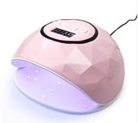 lâmpada uv uw uw pro venda por atacado-Nova 86 W UV Lâmpada Prego Secador Pro UV LED Gel Lâmpada Prego Polimento Rápido Gel Polonês Gelo Lâmpada para Nail Manicure Máquina