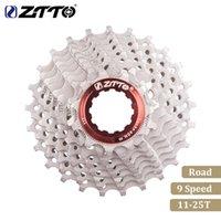 cassetes de bicicleta venda por atacado-ZTTO Road Bike 9 Velocidade Cassete 9 Velocidade 9 S 25 T Peças Da Bicicleta Cassete Roda Dentada Roda Livre 238g para Sora 3300 3500 R3000