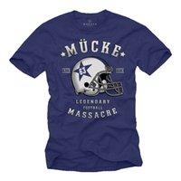 kask büyüklüğü s toptan satış-Erkek Tişört Mavi Sivrisinek 63 Futbol Kaskı Spencer Jersey Büyük Boyutları S-XXXXXL