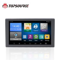 Wholesale android tablet gps support for sale – best TOPSOURCE Android inch Car Truck GPS Navigation GB DVR Video recorder Tablet AV IN support reversing camera with free Maps