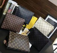 telefone de luxo homem venda por atacado-3A + homens e mulheres da moda graffiti retro saco de embreagem marca de alta qualidade saco de lavagem de armazenamento high-end de luxo bolsa de compras telefone sacos