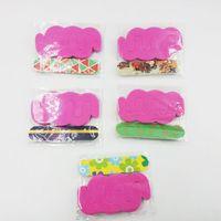Wholesale white block buffers resale online - Flower Printed Nail Art Sanding Files Block Buffer Pedicure Manicure Gel Polisher Nail Polish Files Beauty Tools