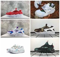 Wholesale lightweight running shoes for men for sale - Group buy 2018 Air Huarache Rainbow Running Shoes For Men Women Lightweight Huaraches Famous Brand designer Huraches Sport Sneakers Eur