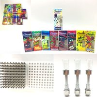 Wholesale plastic vape tips for sale - Group buy Chronic Carts Hologram Vape Cartridge Packaging ml ml Electronic Cigarettes Press on Tips Carts Ceramic Vape Pens