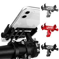 Wholesale motorcycle handlebar cell phone mount for sale – best Aluminum Motorcycle Bike Mobile Phone Holder Adjustable Bicycle Phone Holder Mount Handlebar For Cell GPS