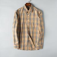 satış artı boyutu bluzlar toptan satış-2019 Yeni Slim Fit Uzun Kollu Sıcak Satış Moda Gömlek Casual Chemise Homme Lüks Erkek Tasarımcı Gömlekler Bluz Artı Boyutu S-3XL