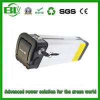 baterías de iones de china al por mayor-36V 16ah batería de iones de litio, plata, peces eléctricos, bicicletas ebike, baterías de li-ion de ebike, se envían con un cargador de 2A en el inventario de China