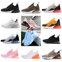 zapatillas de correr talla 16 para hombre al por mayor-16 colores  2019 NIKE AIR MAX 270 AIR Vapormax 27c  Running shoes Sports sneakers venta caliente hombres mujeres niños y niñas zapatos casuales tamaño EUR36-45