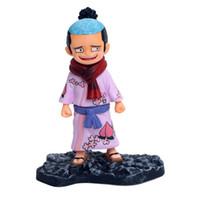 juguetes calientes luffy al por mayor-11 cm anime japonés figura de una pieza Momosuke figura de acción de colección modelo juguetes para niños muñeca luffy Momosuke figura venta caliente