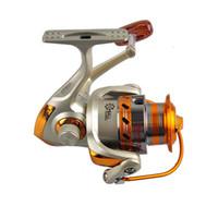 ruedas de carrete de pesca al por mayor-10BB Speed Ratio 5.5: 1 Rueda giratoria de agua salada Trolling Spinning EF1000-7000 Ocean Sea Boat Ice Fishing Tackle Reel ZZA262