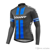 Wholesale giant spring resale online - Giant Cycling Jersey spring Autumn Men Women long sleeve bicycle Clothes Bike Wear Tour de france Cycling Tops mtb maillot F2202