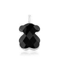 Wholesale red agate pendants for sale - Group buy DORAPANG NEW Sterling Silver Faceted Black Agate Pendant Female Exquisite Jewelry Original Women s Simple Jewelry