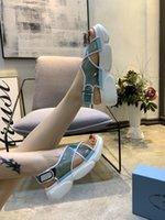 d pompalar toptan satış-Kadın için yüksek topuklu sandalet, hakiki deri giyinme D Barok G heykel topuklu sandalet zh19041907
