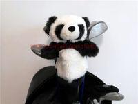 ingrosso regali della novità del panda-Cina Panda Golf Fairway Woods Headcover Peluche Cartoon Animal Golf Cover ibrida Articoli sportivi Club Accessori Mascotte Novità Cue regalo