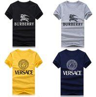 meninos streetwear venda por atacado-Hot T-shirt Criativas de Verão de Algodão Mens T Shirts Musculação 2018 Streetwear Engraçado camisetas Meninos Plus Size8 cores