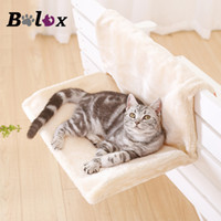 Wholesale lounge hammock resale online - Cat Bed Removable Window Sill Cat Radiator Lounge Hammocks for Kitty Hanging Bed Cosy Carrier Pet Seat Hammock
