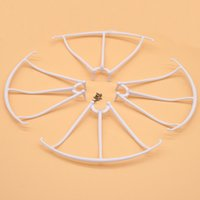 Wholesale helicopter syma x5c for sale - Group buy 4pcs Set Protection Ring for Syma X5C X5 Spare Part White Protective Frame RC Drone Quadcopter Accessories