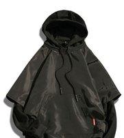 nueva chaqueta de los hombres coreanos al por mayor-Nueva clase de primavera de falso de dos piezas de ropa sanitaria tamaño masculino cubierta de sombrero chaqueta de edición coreana estudiante ropa chaqueta masculina