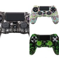 Wholesale accessories ps 4 resale online - nEjLa Silicone Rubber Case Gel Skin Cover for Sony PlayStation Soft PS4 PS Controller Shell Joystick Skin Housing Game Accessories