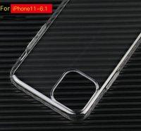 iphone cristal duro para trás venda por atacado-Completa caixa transparente Coveraged Crystal Clear dura do PC Back Cover Ultra Slim plástico para iPhone 11 pro X XS MAX XR 7 8 6 Plus S10 nota 10