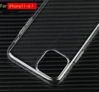 ingrosso plastica dura trasparente-Pieno Custodia Trasparente coveraged cristallo di copertura ultra sottile di plastica dura del PC per iPhone 11 Pro X XS MAX XR 7 8 6 Plus S10 nota 10