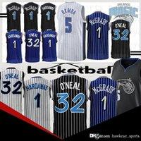 Wholesale men basketball uniforms for sale - Group buy men Shaquille Neal Penny Mohamed Tracy McGrady Bamba jerseys Hardaway jersey uniform